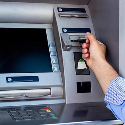 ATM, cash dispenser