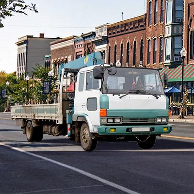 Auto crane truck - 01