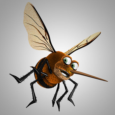 Buzzing, mosquito, fly, imitation