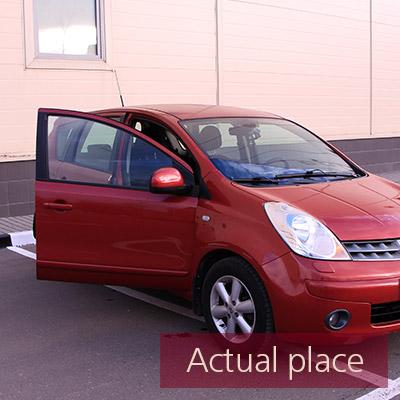 Car door, open and close, external, Nissan Note - 02