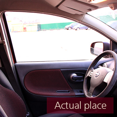 Car door, open and close, internal, Nissan Note