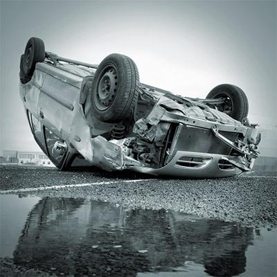 Car wheel spinning, car tire rotation - 02