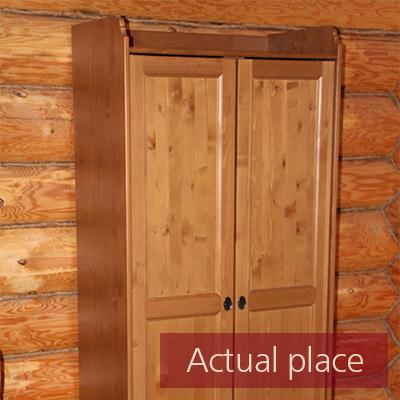 Cupboard, cabinet door, wood squeak - 02