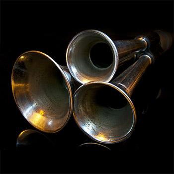 Dixie car air horn