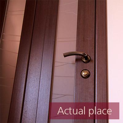 Door, office door, open and close - 01