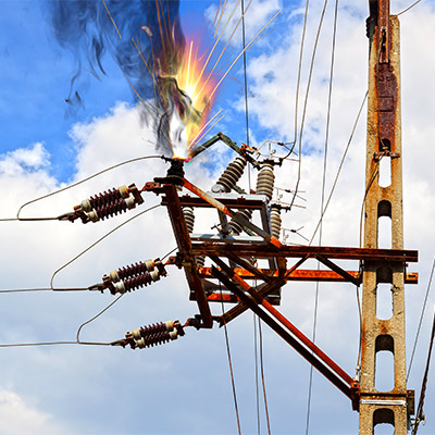 Electric spark, electric arc - 02
