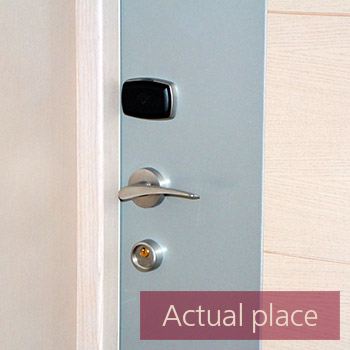 Electronic door lock, open and close
