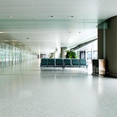 Entrance hall, room tone, hum