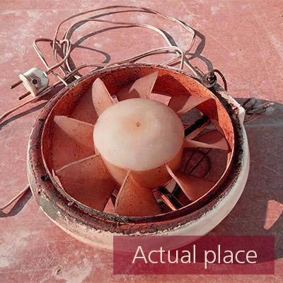 Fan, old fan, ventilator, blower (close distance) - 03