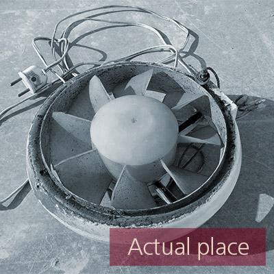Fan, old fan, ventilator, blower (medium distance) - 02