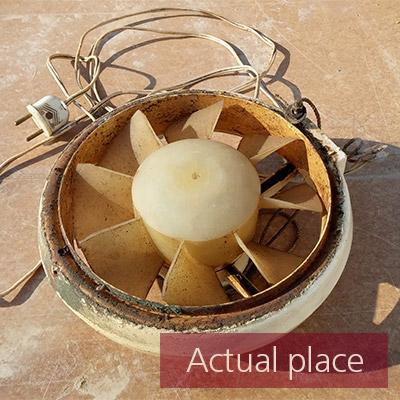 Fan, old fan, ventilator, blower (close distance) - 02
