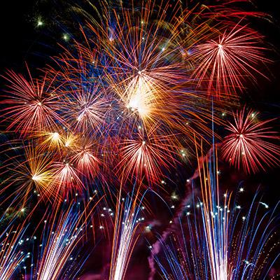 Fireworks far distance - 01