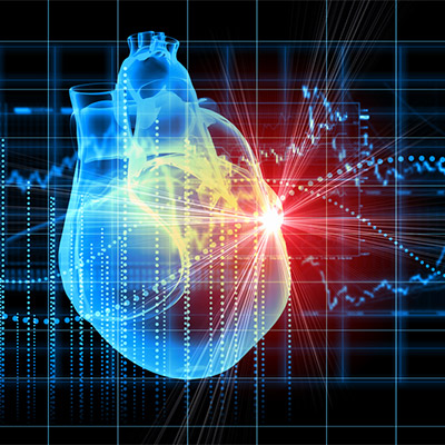Heartbeat, pulse, normal rate, real sound - 02