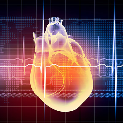 Heartbeat, pulse, normal rate, real sound - 01