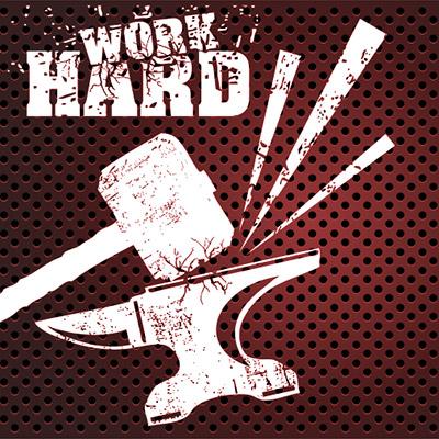 Heavy metal hit, metal impact - 02