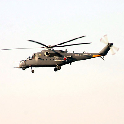 Helicopter MI-35M