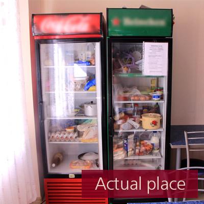 Large fridge, refrigerator compressor
