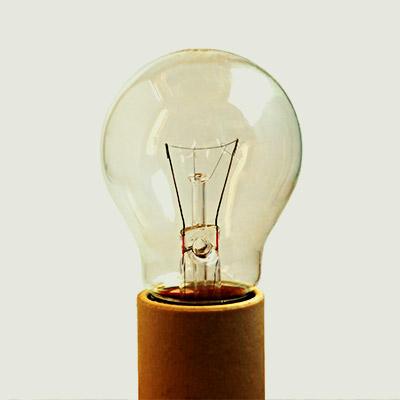 Metal squeak, bulb in porcelain socket