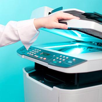 Photocopier scanning