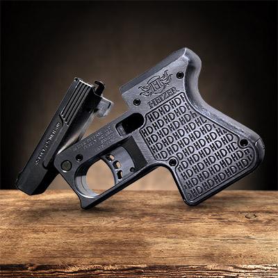 Pistol, gun, Heizer Defense PS1 pocket shotgun