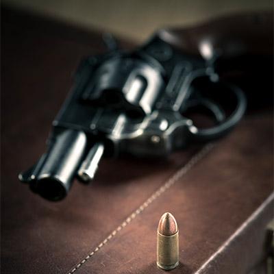Pistol, gun, vintage recording
