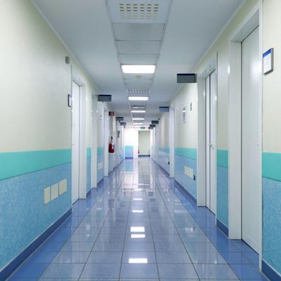 Room tone, large hallway, ventilation - 01