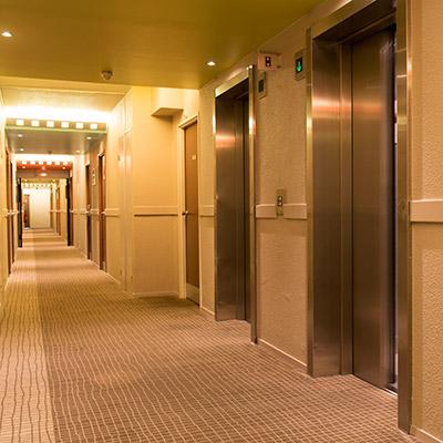 Room tone, large hallway, ventilation - 02