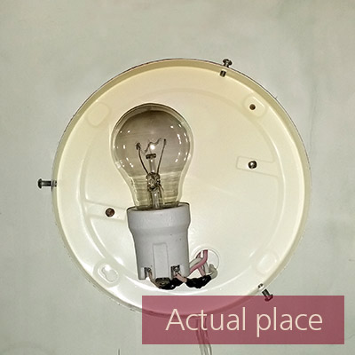 Screwing in and unscrewing a light bulb - 02