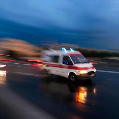 Siren, ambulance, fire, police, approach - 01
