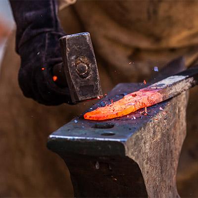 Sledgehammer, anvil, blacksmith - 01