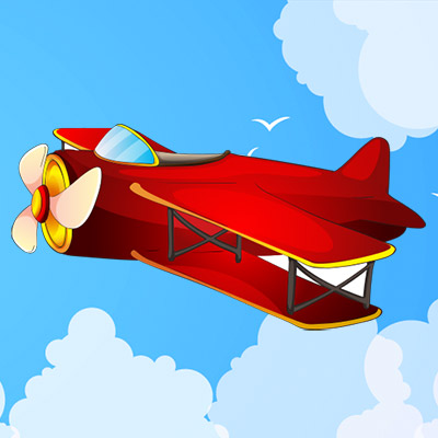 Small motor, toy airplane - 01