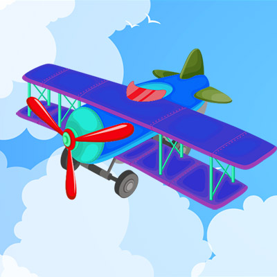 Small motor, toy airplane - 02