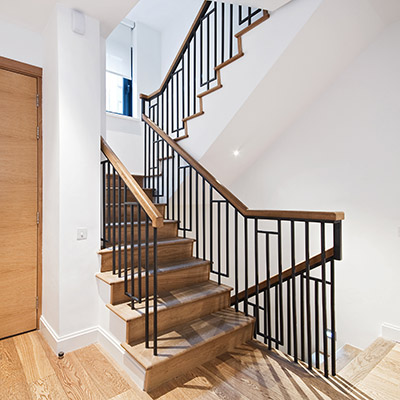 Staircase, stairwell, porch, apartment house - 01