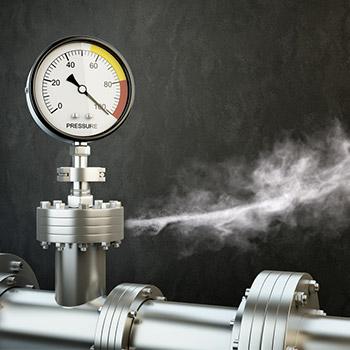 Steam hiss, air release, gas leak - 01