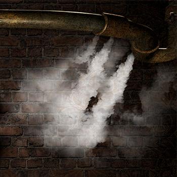 Steam hiss, air release, gas leak - 02