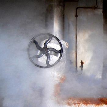 Steam release, air pressure