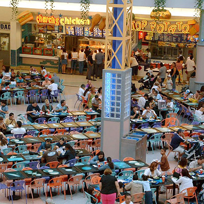 Trade center, food court - 01