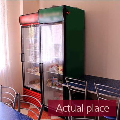 Two large fridges, refrigerators