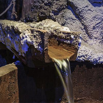 Water drain, gully, drainpipe, waterfall (close distance) - 03