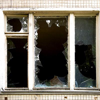 Window glass smash