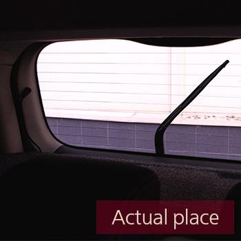 Windshield wipers, rear, internal, Nissan Note