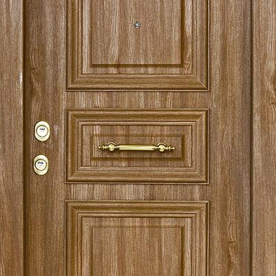 Wooden door, open and close - 02